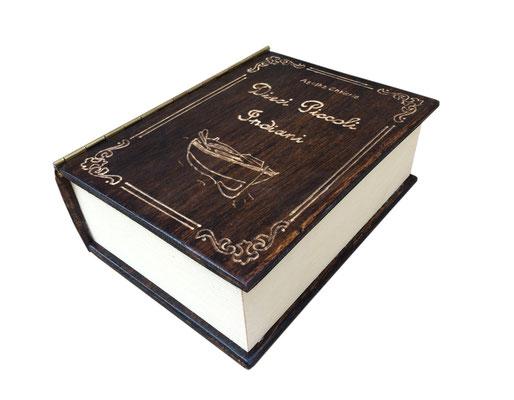 libro antico portachiavi