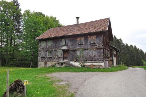 verlassenes Bauernhaus