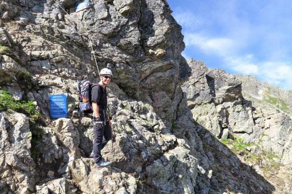 Vaude Klettersteig : Vaude schmugglersteig klettersteig bergsteigen