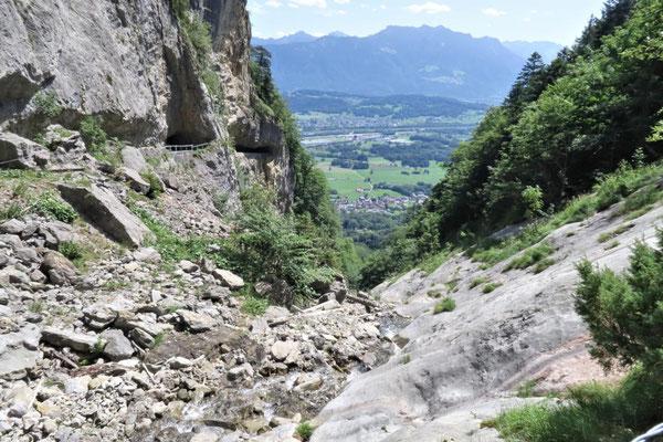 unten liegt Sennwald