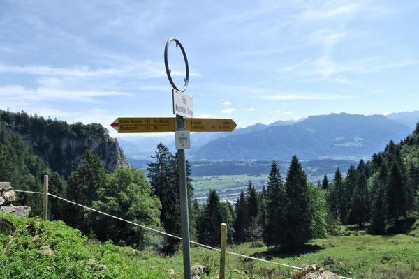 Richtung Sennwald