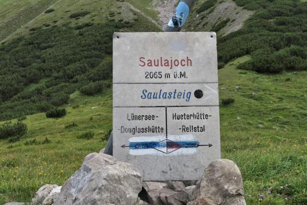 beim Saulajoch