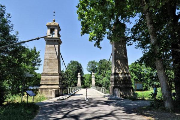 Kabelhängebrücke Kressbronn/Langenargen