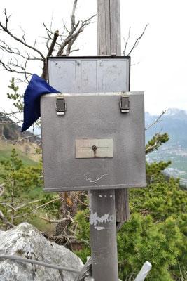 "Gipfelbuch-""Tresor"""