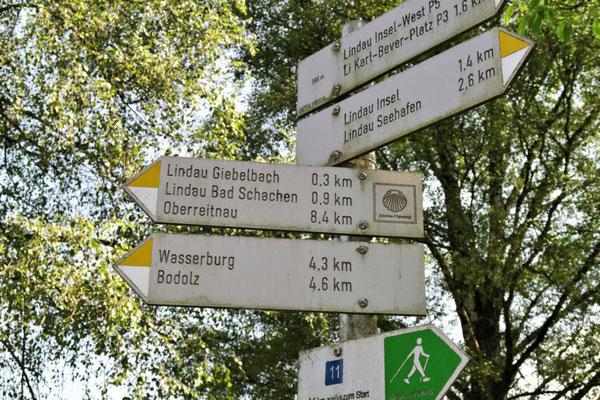Richtung Lindau Bad Schachen