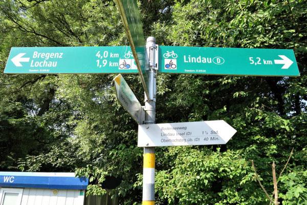 Richtung Lindau