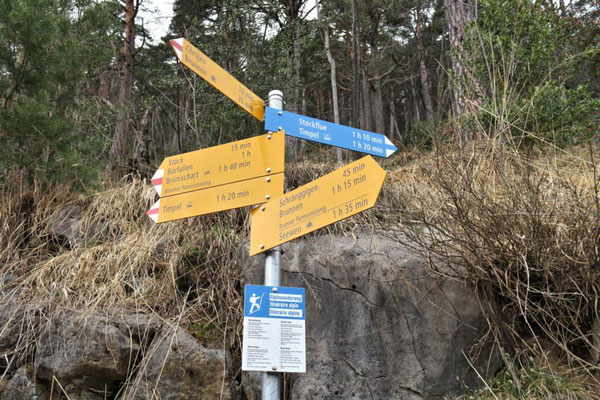 """endlich am """"Alpinwanderweg""""..."""