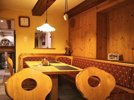 Abendessen im Stüberl