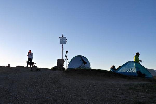 Übernachtungs-Zelte