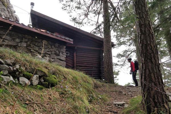 markante Hütte