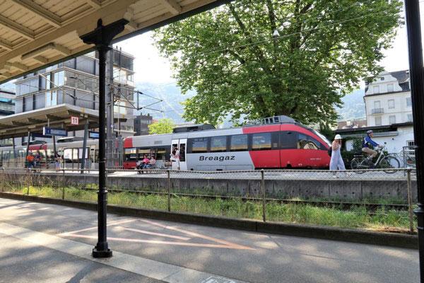 Mit Zug nach Bregenz-Hafen
