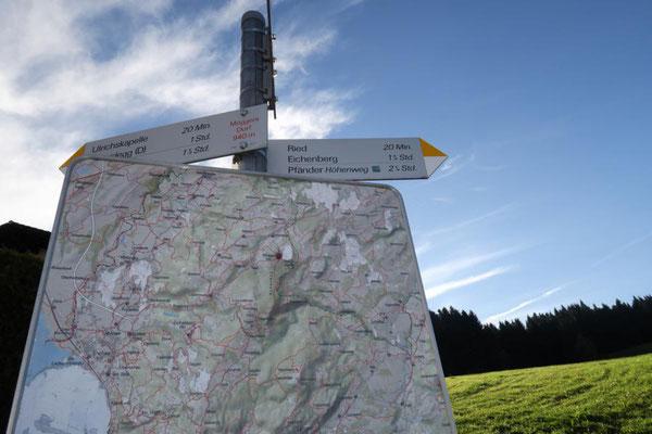 Möggers - 940 m hoch!