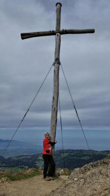 Am Gipfelkreuz