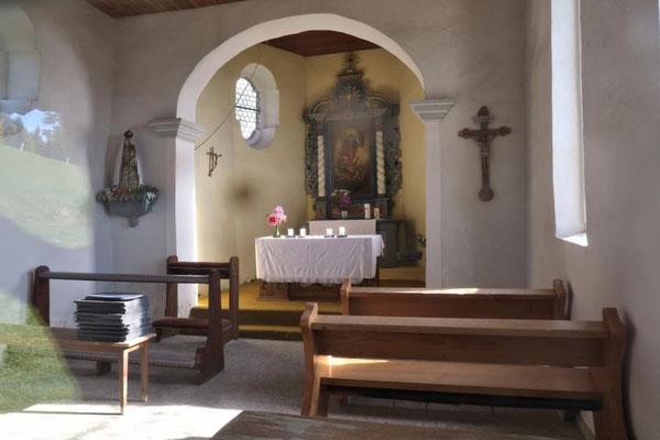 ein Blick in die Kapelle