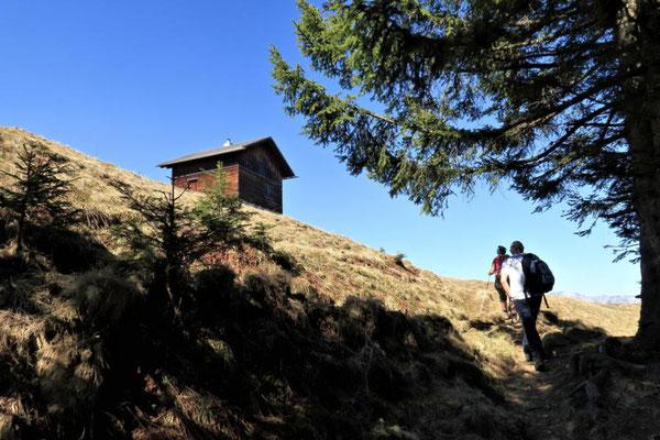 Bazora-Alpe in Sicht