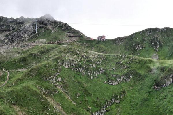 Blick zur Wormser Hütte