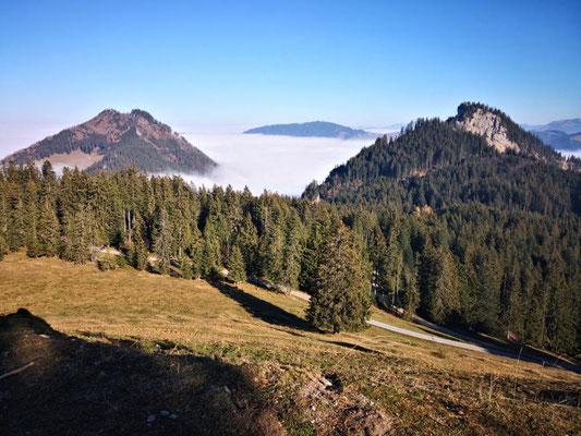 Blick zur Staufenspitze und ???