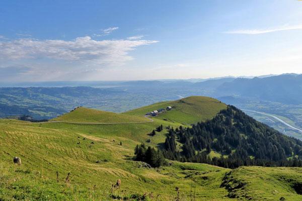 Blick auf die Alpe