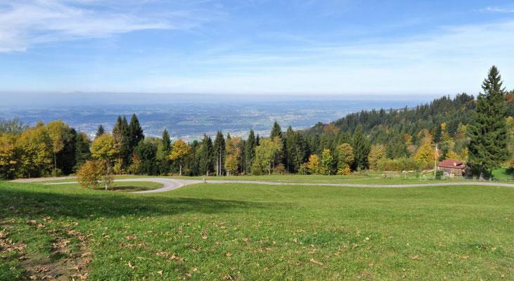 noch ein Blick ins Tal