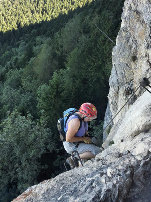 "...""via-ferrata-community""-Aufkleber"