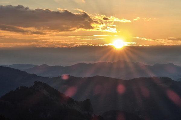...die Sonne...