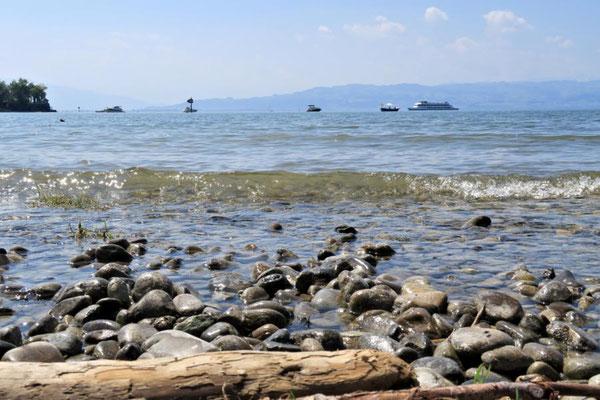 Sicht auf den See