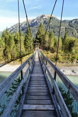 Hängebrücke bei Weißenbach