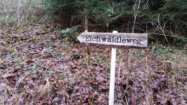 hier nennt sich der Weg so...