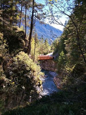 Brücke über den Schwarzwasserbach