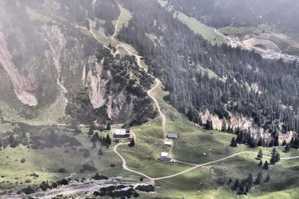nochmals die H. Hueter-Hütte