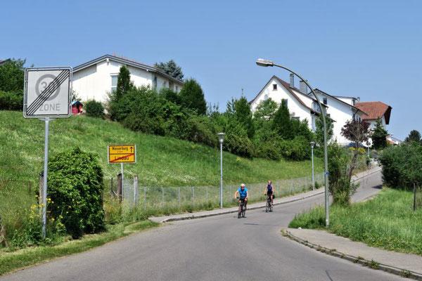Richtung Wasserburg