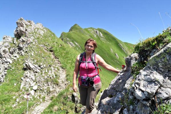 der Weg zur Geißspitze