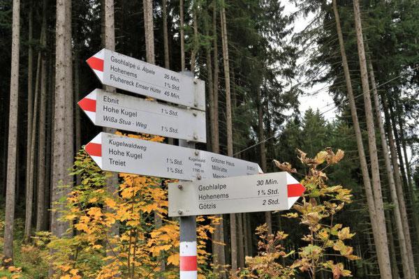 über den Kugelwaldweg