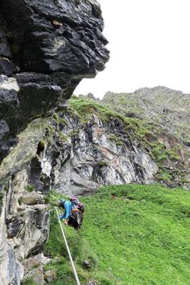 Wandern oder Klettern?