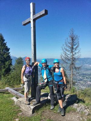 Gipfelkreuz erreicht!