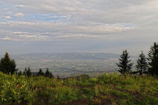 Wolkenstimmung überm Rheintal