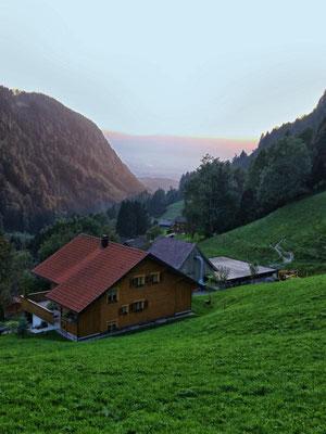 """...vom """"Berghof"""" aus gesehen..."""