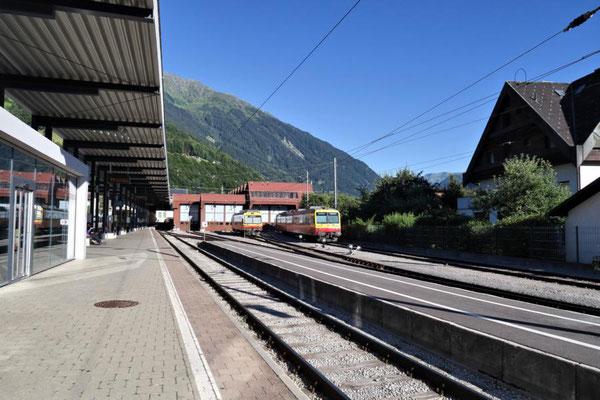 ...dann mit Bus bis Schruns Bahnhof