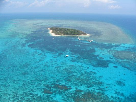 Great Barrier Reef - グレートバリアリーフの宝石とも呼ばれているグリーン島