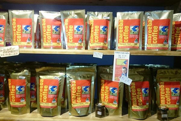 Cairns Night Market - オーストラリア産コーヒーの70%以上はケアンズ近郊テーブルランド・マリーバー産です。