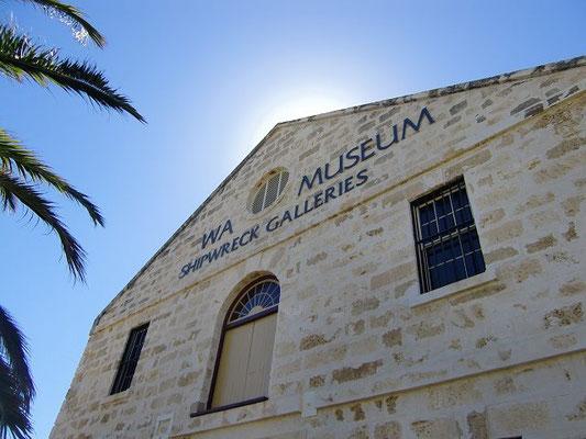 Fremantle Shipwreck Museum - ビジターセンターおすすめの海洋博物館。難破船の展示物があります。