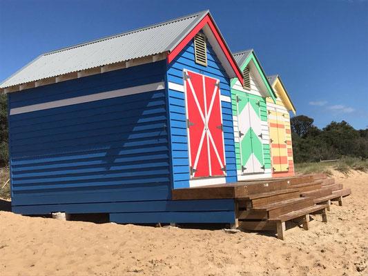 Brighton Beach - Bathing Boxeはとてもカラフル