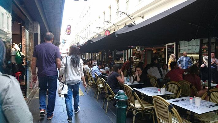 Melbourne City - メルボルン中心部にはとてもおいしいカフェがたくさんあります