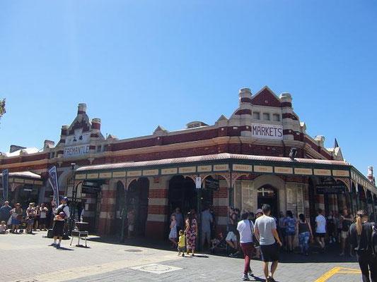 Fremantle Markets - 毎週日曜日に開催されるフリーマントルのマーケット。