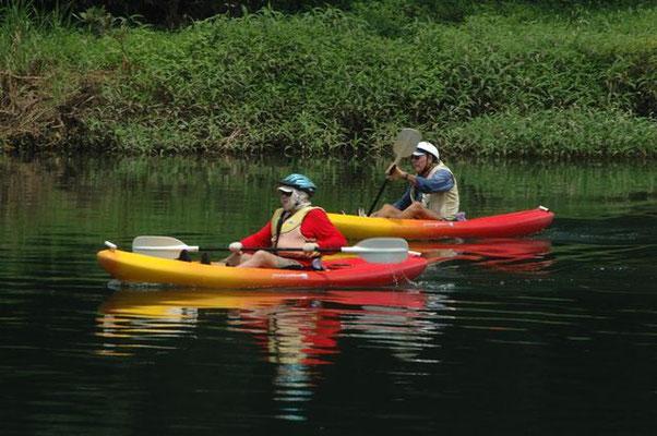 Goldsborough - ケアンズから南南西に40分ほど行ったところにある川 流れが緩やかな川なので休日はカヌーを楽しむ人たちがたくさん来ています