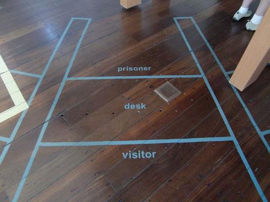Fremantle Prison - 面会場所