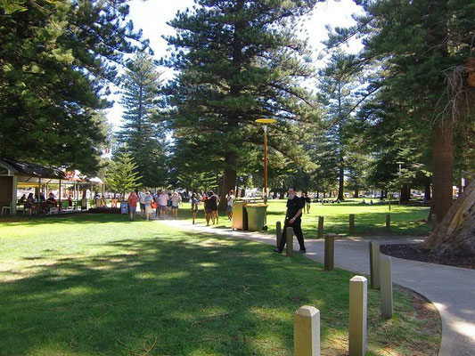Fremantle Esplanade Park - エスプラネード・パーク 天気の良い日は芝生の上でゴロゴロするだけで気持ちよさそうです。