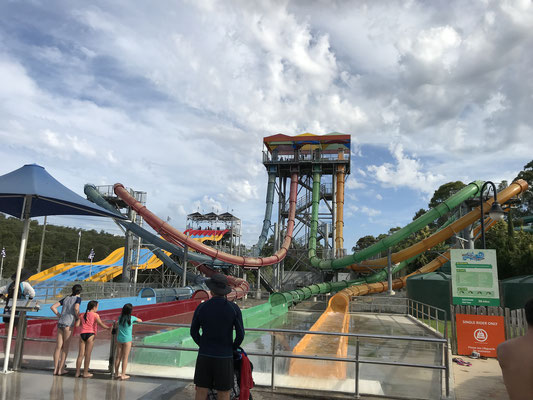 Gold Coast - Wet 'n' Wild Aqua Loop