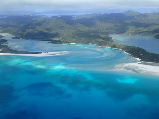 ウィットサンデー諸島 (Whitsunday Island) ①