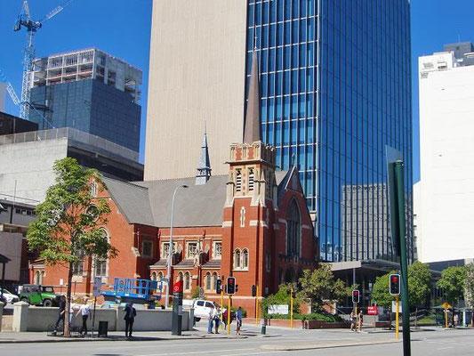 Perth City Central - オーストラリアには素敵な教会がたくさんあります